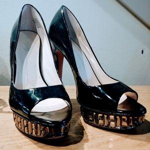 Boutique rhinestone heels